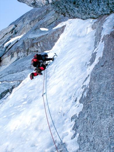 Fil a Plomb, Chamonix. (2007)
