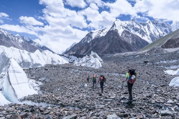 Virjerab Glacier, Pakistan (2016)
